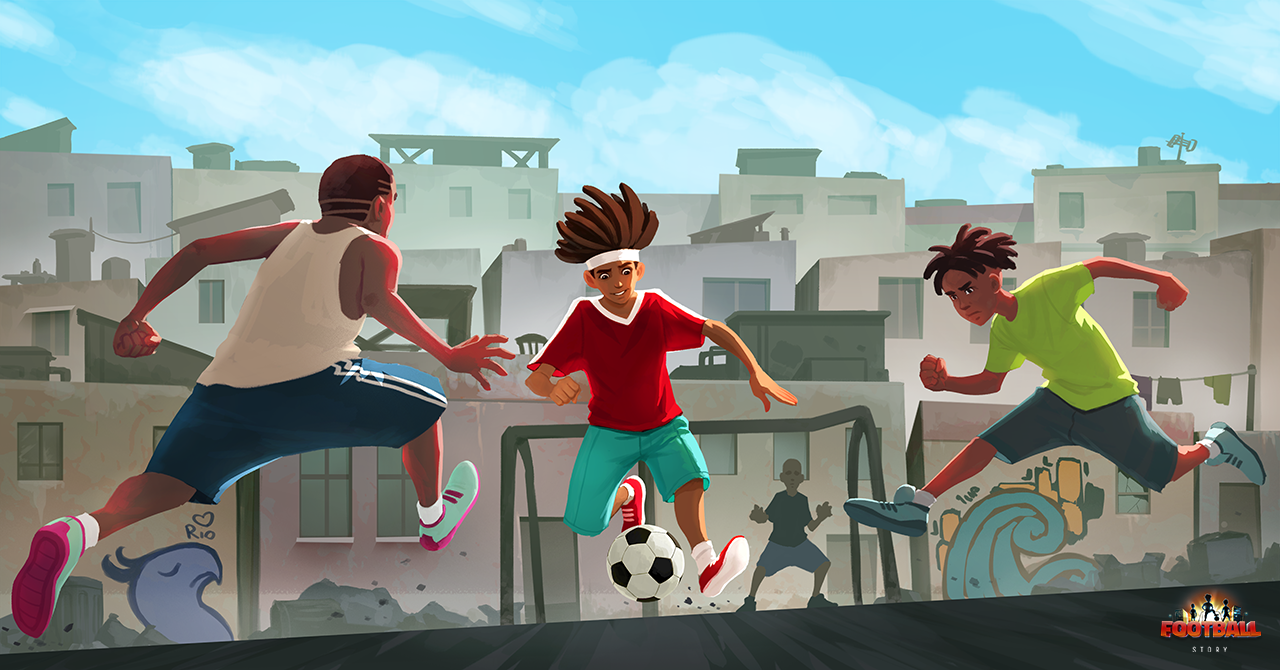 Promo Art Football Story