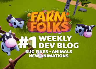Weekly Dev Blog #1 - Bugs, Animations and Animals.