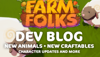 Farm Folks Dev Blog - New animals, character updates and more!